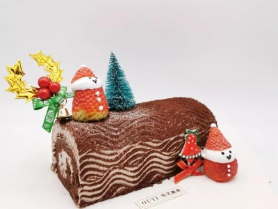 圣诞节蛋糕制作教程,今年的圣诞爆款创意蛋糕一定是它