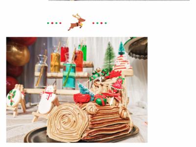 仪式感满满的圣诞节蛋糕甜品
