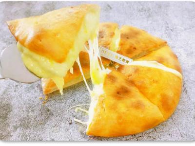 榴莲芝士爆浆饼