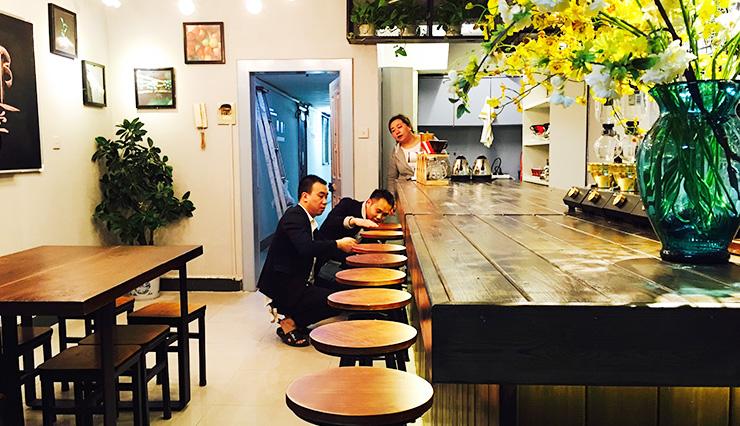 重庆欧艺咖啡培训学校教室环境,重庆学做咖啡师培训